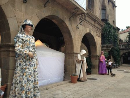 шествие гигантов Испания фото