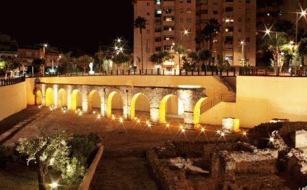город Альмуньекар акведук
