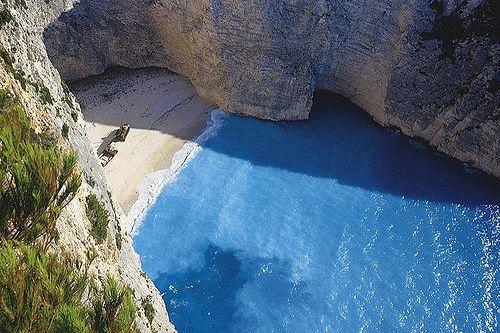 Пляж Навагио на Закинфе фото