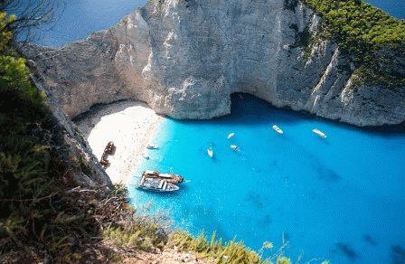 остров закинф греция