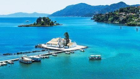 Остров Корфу для детей