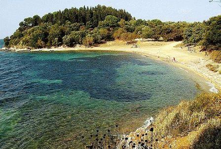остров корфу пляжи