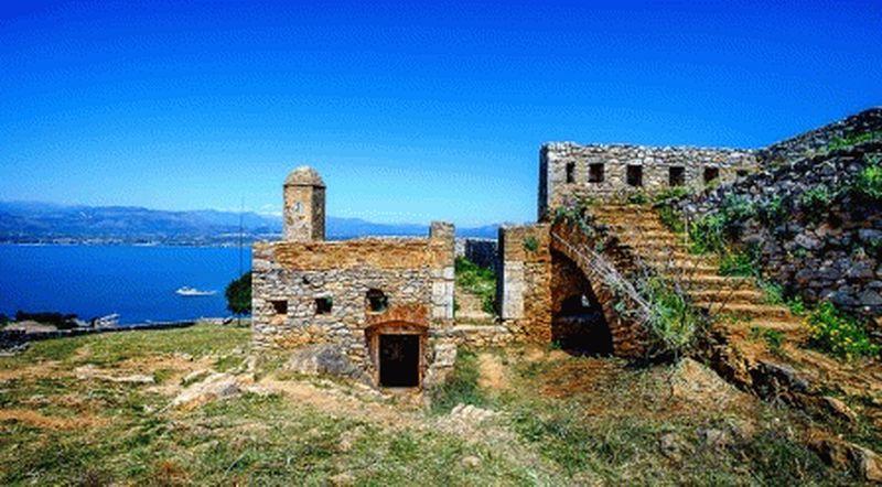 нафплион крепость