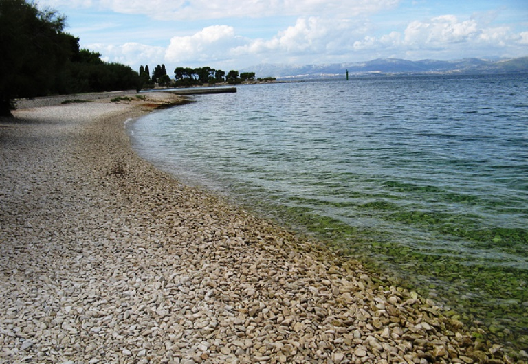 Супертар Хорватия пляж