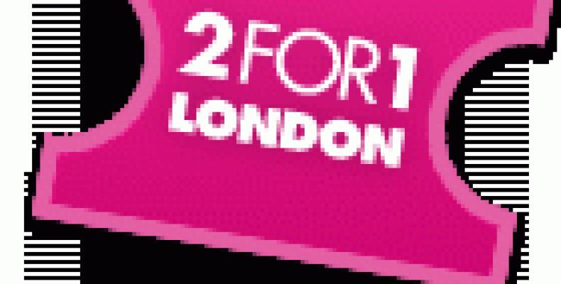 Скидки 2FOR1 (2в1) в Лондоне – билеты дешевле