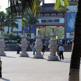 Центр Буддизма и еда монахов — фото из поездки в Китай