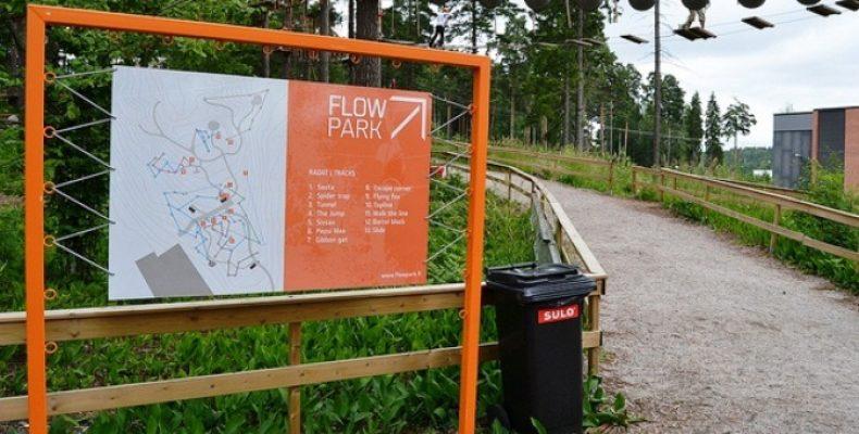 FlowPark в Лапеенранте и Турку – парк для экстремалов