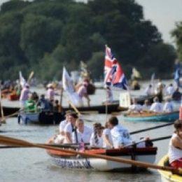 Большая речная гонка на Темзе, Лондон (Great River Race)