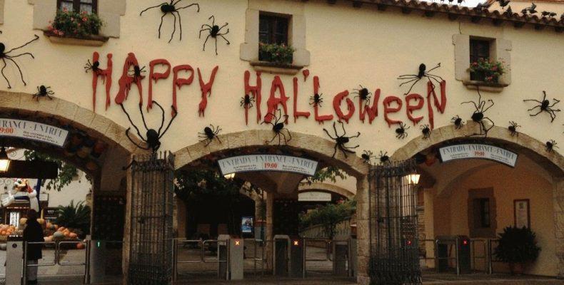Хеллоуин в парке Порт Авентура (Испания) — фото