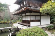 Храм Гинкакудзи (Серебряный павильон) в Киото – фото