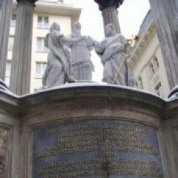 Памятники Вены – Моцарту, Штраусу, Советскому воину