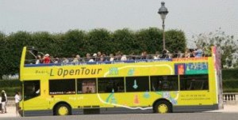 Экскурсионные автобусы в Париже (Paris L'OpenTour, Les Cars Rouges)