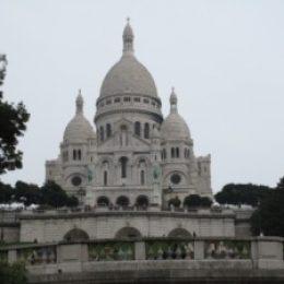 Базилика Сакре Кёр (Sacre Coeur), Монмартр, Париж