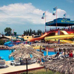 Развлечения для взрослых и детей на Корфу: аквапарк Aqua Land