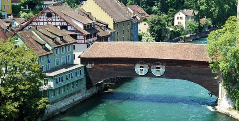 Баден, Швейцария – термы, башни, достопримечательности
