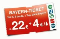 Баварский билет (Bayern Ticket) в Мюнхене: где действует, как купить