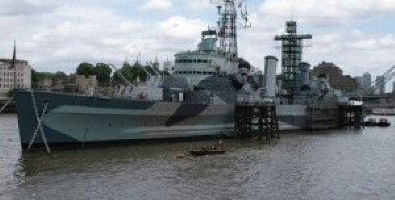 Крейсер Белфаст (HMS Belfast) – корабль в центре Лондона