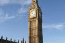 Часы Биг Бен (Big Ben) в Лондоне —  символ Великобритании