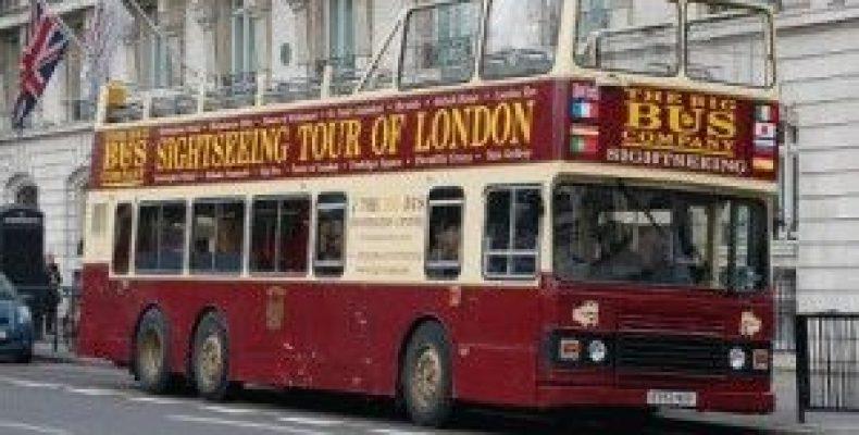 Туристический экскурсионный автобус в Лондоне Big Bus Tour
