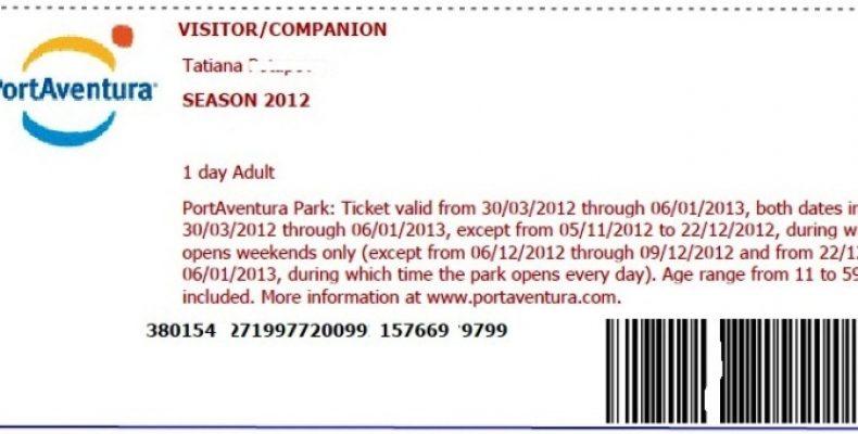 Билеты в Порт Авентура – цена, как купить
