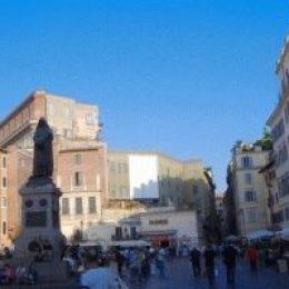 Кампо де Фьори – рыночная площадь в Риме
