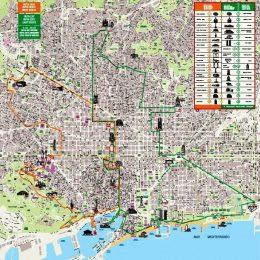 Туристический автобус в Барселоне – маршруты, билеты, советы