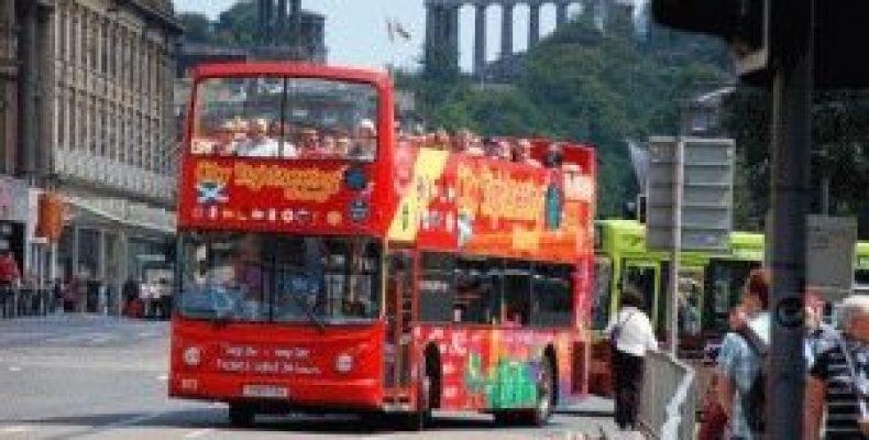 Туристический экскурсионный автобус в Эдинбурге, маршруты