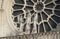 Фрагмент фасада Нотр-Дам де Пари