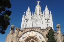 Гора Тибидабо, парк аттракционов в Барселоне