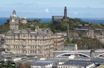 Осматриваем город Эдинбург – третий день, карта Эдинбурга