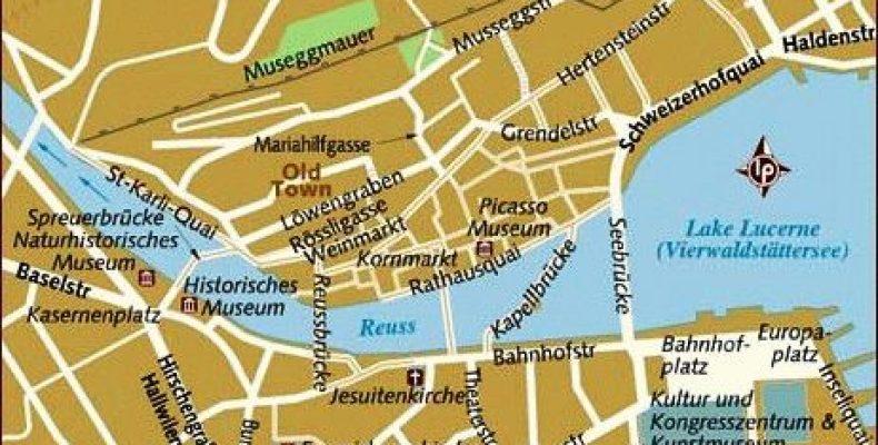Город Люцерн, Швейцария – достопримечательности и прогулка