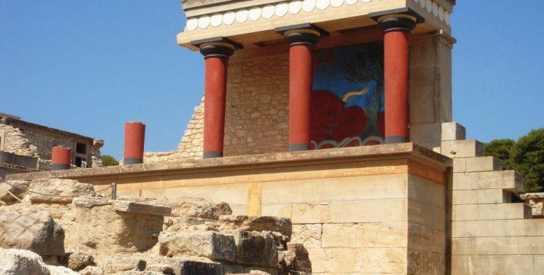 Кносский дворец на Крите – фото и рекомендации по посещению