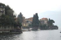 Озеро Комо и город Варенна (Италия) – фото