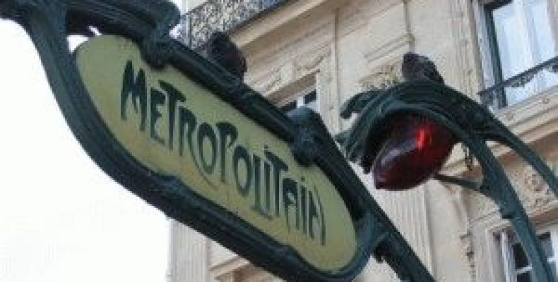 Метро Парижа – проезд, схема метро, RER в Париже