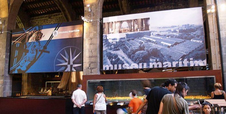 Морской музей в Барселоне: старинные галеры и боевые корабли