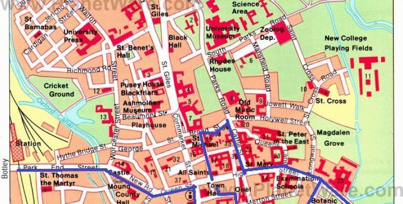 Оксфорд – маршрут по городу, как добраться