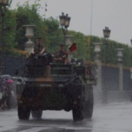 Париж в июле – День взятия Бастилии, погода