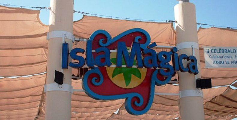 Парк развлечений Isla Magica в Севилье