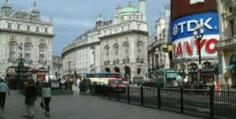 Улица Пикадилли в Лондоне – прогулка