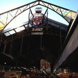 Рынок Бокерия в Барселоне (La Boqueria) — фото