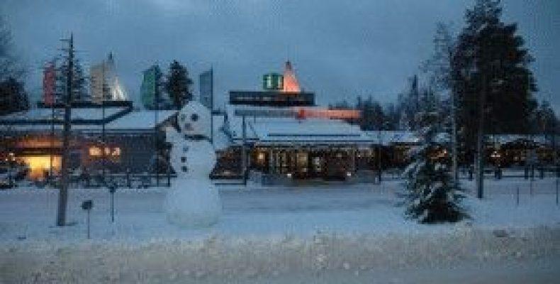 Санта-парк, деревня Санта Клауса в Рованиеми – зимняя сказка Финляндии