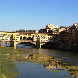 Золотой мост во Флоренции (Ponte Vecchio) — фото
